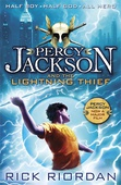 obálka: Percy Jackson and The Lightning Thief