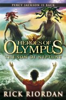 obálka: The Son of Neptune - Heroes of Olympus
