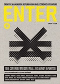 obálka: ENTER+ (Creative Manual for Repurposing in Electronic Literature)