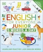obálka: English for Everyone Junior: 5 Words a Day