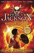obálka: Percy Jackson and the Battle of the Labyrinth